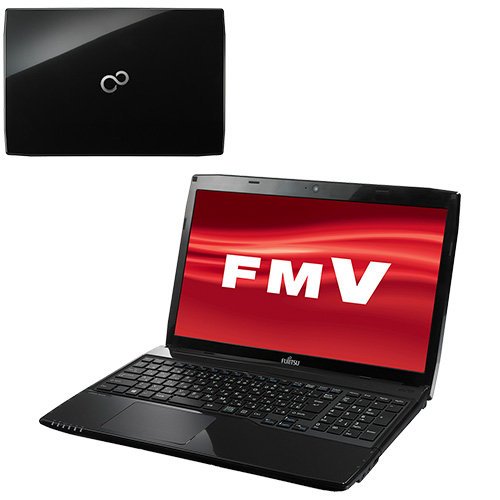 FMV LIFEBOOK AH53/M [シャイニーブラック ] FMVA53MB