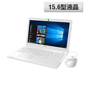 <富士通> 人気のスタンダードノートPC LIFEBOOK AH45/A3 プレミアムホワイト画像