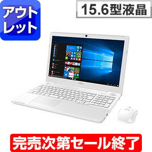 LIFEBOOK AH53/A3 プレミアムホワイト (アウトレット)